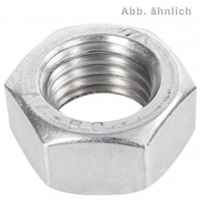 50 Sechskantmuttern M16 - Links-Feingew. 1,5mm - SW24 - Edelstahl A4 - DIN 934