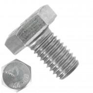 100 Sechskantschrauben M10 x 16 mm - SW 17 - Edelstahl A4 80 - DIN 933