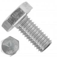 100 Sechskantschrauben M10 x 20 mm - SW 17 - Edelstahl A4 80 - DIN 933