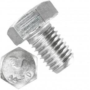 50 Sechskantschrauben  M 12X18 mm - SW 19 - Edelstahl A4 - 70 - DIN 933