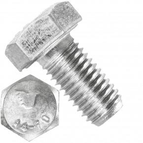 50 Sechskantschrauben M12 x 25 mm - SW19  - Edelstahl A4 - 70 - DIN 933
