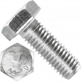 50 Sechskantschrauben M12 x 35 mm - SW19  - Edelstahl A4 - 70 - DIN 933
