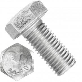 25 Sechskantschrauben M16 x 35 mm - SW24  - Edelstahl A4 - 70 - DIN 933