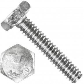 1000 Sechskantschrauben M2 x 10 mm - SW 4 - Edelstahl A4 - 70 - DIN 933