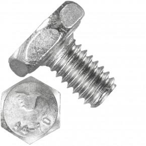 1000 Sechskantschrauben M2,5 x 4 mm - Edelstahl A4 - 70 - DIN 933