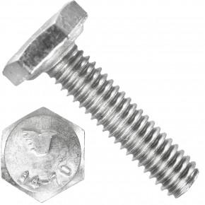 1000 Sechskantschrauben M3 x 10 mm - SW 5,5 - Edelstahl A4 - 70 - DIN 933