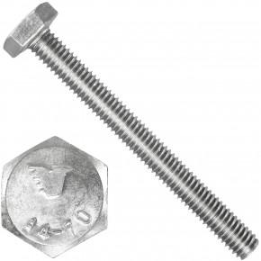 1000 Sechskantschrauben M3 x 30 mm - SW 5,5 - Edelstahl A4 - 70 - DIN 933