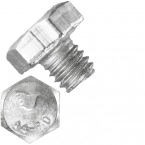 1000 Sechskantschrauben  M 4X4 mm - SW 7 - Edelstahl A4 - 50 - DIN 933