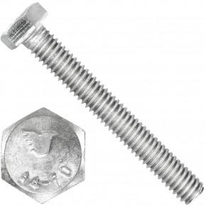 200 Sechskantschrauben M5 x 40 mm - SW 8 - Edelstahl A4 - 70 - DIN 933