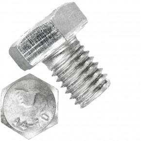 500 Sechskantschrauben  M 8X10 mm - SW 13 - Edelstahl A4 - 70 - DIN 933