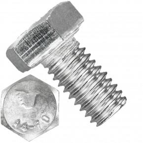 200 Sechskantschrauben  M 8X14 mm - SW 13 - Edelstahl A4 - 70 - DIN 933
