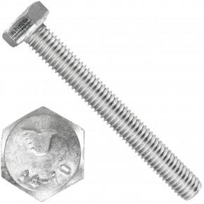 100 Sechskantschrauben  M 8X65 mm - SW 13 - Edelstahl A4 - 70 - DIN 933