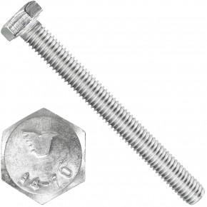 50 Sechskantschrauben  M 8X75 mm - SW 13 - Edelstahl A4 - 70 - DIN 933