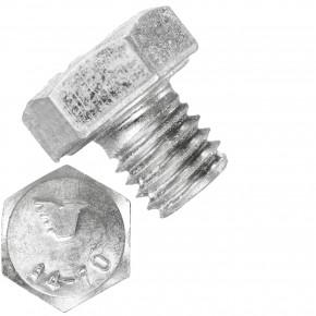 500 Sechskantschrauben  M 8X8 mm - SW 13 - Edelstahl A4 - 70 - DIN 933