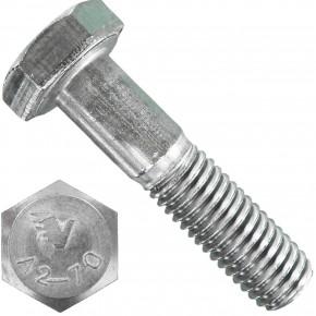 50 Sechskantschrauben DIN 931 - M12 x 50mm - Edelstahl A2