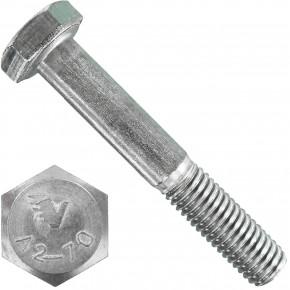 100 Sechskantschrauben DIN 931 - M8 x 50mm - Edelstahl A2