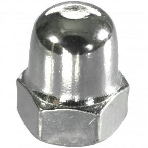 500 Hutmuttern DIN 1587 - M5 - Edelstahl A2