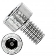 200 Zylinderschrauben M4 x 6mm - Innensechskant - Edelstahl A2 - DIN 912