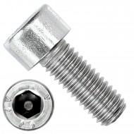 200 Zylinderschrauben M8 x 20mm - Innensechskant - Edelstahl A2 - DIN 912