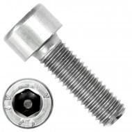 100 Zylinderschrauben M8 x 25mm - Innensechskant - Edelstahl A2 - DIN 912