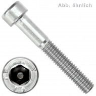 100 Zylinderschrauben M1,6 x 5mm - Innensechskant - Edelstahl A2 - DIN 912