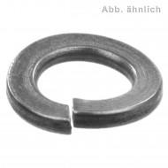 1000 Federringe DIN 128 - Edelstahl A1, Form A (gewölbt) M 6