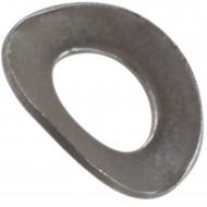 1000 Federscheiben DIN 137 - Edelstahl A1, Form B (gewellt) M 4