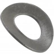 1000 Federscheiben DIN 137 - Edelstahl A1, Form B (gewellt) M 5