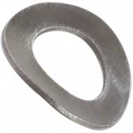 500 Federscheiben DIN 137 - Edelstahl A1, Form B (gewellt) M 6