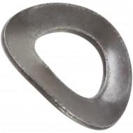 500 Federscheiben DIN 137 - Edelstahl A1, Form B (gewellt) M 7
