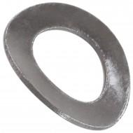 500 Federscheiben DIN 137 - Edelstahl A1, Form B (gewellt) M 8