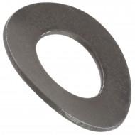 500 Federscheiben DIN 137 - Edelstahl A1, Form B (gewellt) M 10