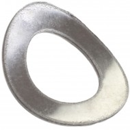 500 Federscheiben DIN 137 - Edelstahl A1, Form A (gewölbt) M 10