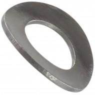 200 Federscheiben DIN 137 - Edelstahl A1, Form B (gewellt) M 14