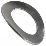200 Federscheiben DIN 137 - Edelstahl A1, Form B (gewellt) M 20