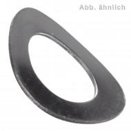 100 Federscheiben - M10 - DIN 137 - Form A - Edelstahl 1.4310