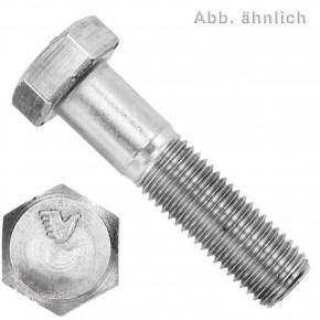 1 Sechskantschraube DIN 931 - M16 x 80mm - Edelstahl A5