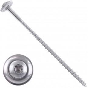 100 Spenglerschrauben 4,5 x 150 mm - inkl. Scheibe - TX20 - Edelstahl A2
