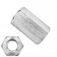 100 Sechskantmuttern M10 - hohe Form - SW17 - Edelstahl A2 - DIN 6334