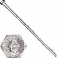 25 Schlüsselschrauben 12x300 mm - Edelstahl A2 - DIN 571