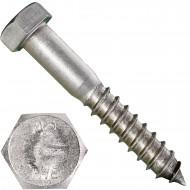 25 Schlüsselschrauben 16x100 mm - Edelstahl A2 - DIN 571