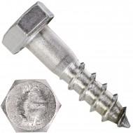 200 Schlüsselschrauben 5x20 mm - Edelstahl A2 - DIN 571
