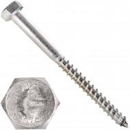 15 Schlüsselschrauben 8x100 mm - Edelstahl A2 - DIN 571