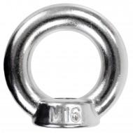 10 Ringmuttern - M16 - gegossene Ausführung - Edelstahl A2