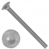 50 Schlossschrauben DIN 603 - M10 x 120 mm - Edelstahl A2