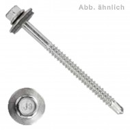 500 BI- Metall Bohrschrauben, Bohrleistung 1,0-5,0 - 6,3x25