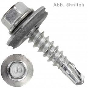 250 BI- Metall Bohrschrauben, Bohrleistung 2,0-4,0 - 5,5x50