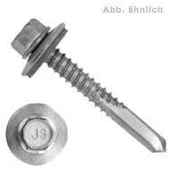 500 BI- Metall Bohrschrauben, Bohrleistung 2,0-10,0 - 5,5x40