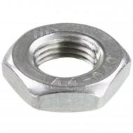 100 Sechskantmuttern M10 - Feingewinde 1mm - niedrig, Form B - A4 - DIN 439