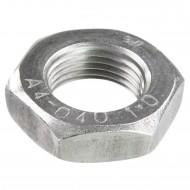 100 Sechskantmuttern M12 - Feingewinde 1mm - niedrig, Form B - A4 - DIN 439